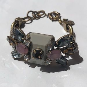 J.Crew Crystal Statement Bracelet